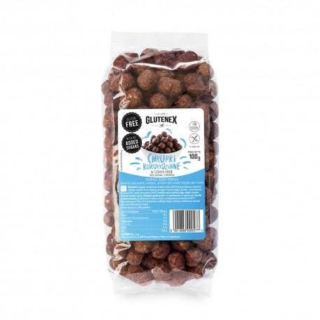 Chrupki kukurydziane w czekoladzie bez dodatku cukrów - Produkty Główna - Glutenex