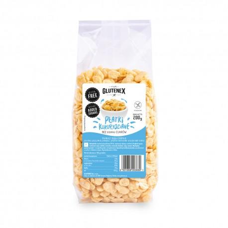 Płatki kukurydziane bez dodatku cukrów - Produkty Główna - Glutenex