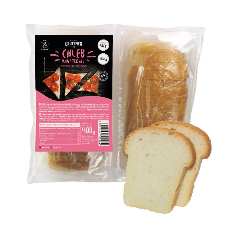 Chleb kanapkowy - Produkty Bezglutenowe - Glutenex