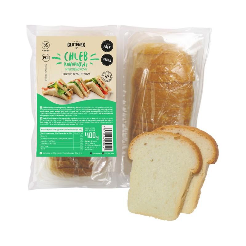 Chleb kanapkowy niskobiałkowy - Produkty Niskobiałkowe - Glutenex